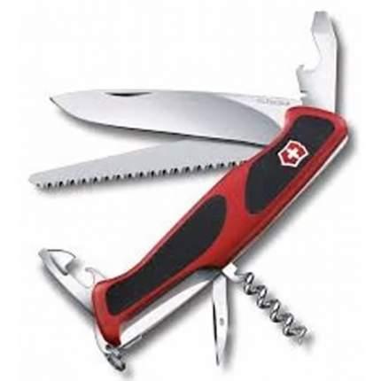 Мультитул Victorinox RangerGrip 55 0.9563.CB1 130 мм красный, 12 функций