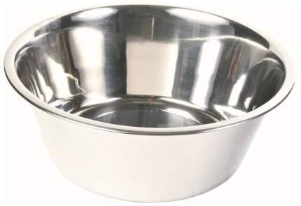 Одинарная миска для собак TRIXIE, сталь, серебристый, 4.5 л