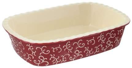 Форма керамическая ТМ Appetite прямоугольная 35,5х25,8х7,5 см Красный
