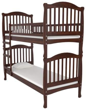 Двухъярусная кровать Nuovita Altezza Due Nocescuro Темный орех