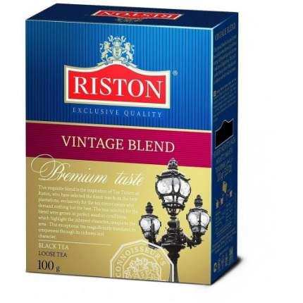 Чай черный листовой Riston винтэйдж бленд 100 г