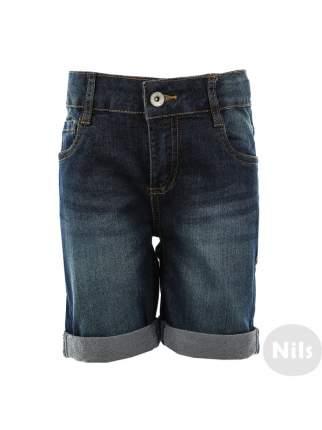 Джинсовые шорты INCITY KIDS темно-синий р.98