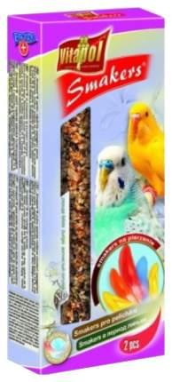 Лакомства для птиц Vitapol Smakers для волнистых попугаев в период линьки 90г