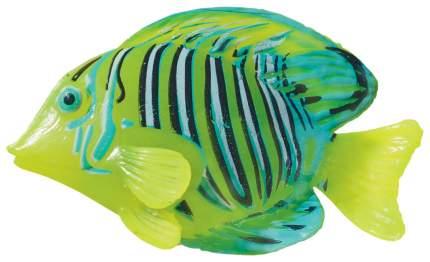 Декорация для аквариума JELLY-FISH Рыба-Хирург неоновая, силикон, 9,7х14х2,5 см