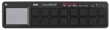 Портативный USB-MIDI-контроллер Korg Nanopad2-BK