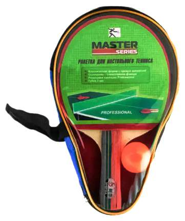 Ракетка для настольного тенниса Master Series SH032 SH032, черно-красная