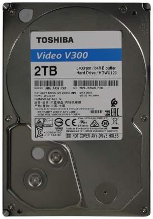 Внутренний жесткий диск Toshiba Video V300 2TB (HDWU120UZSVA)