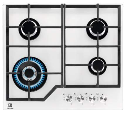Встраиваемая варочная панель газовая Electrolux GPE363YV White