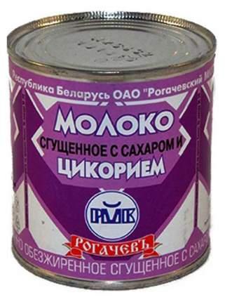 Молоко Рогачевъ сгущенное 7% с сахаром и цикорием 380 г