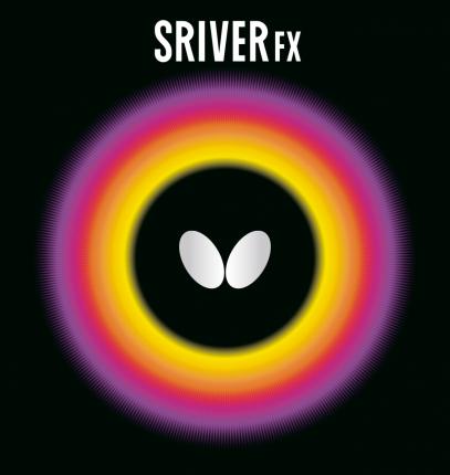 Накладка для ракетки Butterfly Sriver FX черная max