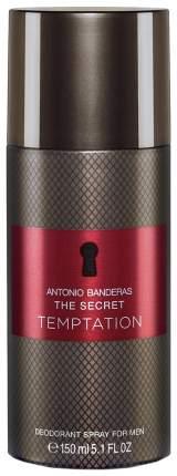 Дезодорант Antonio Banderas The Secret Temptation Deodarant Spray