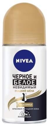 Дезодорант-антиперспирант Nivea Черное и белое Невидимый гладкий шелк 50 мл