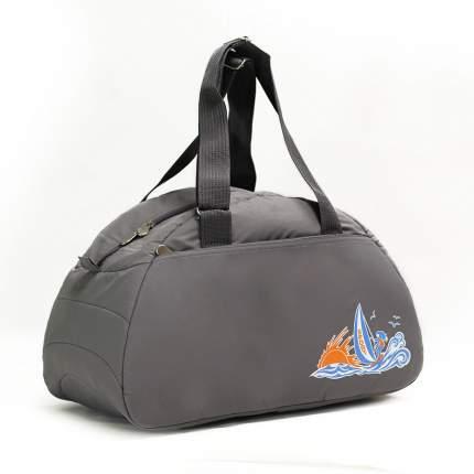 Спортивная сумка Polar 6020с серая