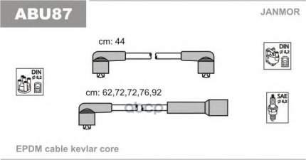 Комплект проводов зажигания JANMOR ABU87