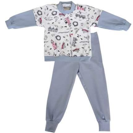 Пижама детская Папитто Маяки р.104 арт.15872-03