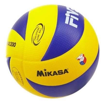 Волейбольный мяч Mikasa MVA200 синий/желтый
