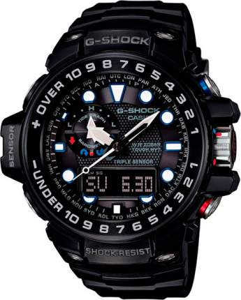 Японские наручные часы Casio G-Shock GWN-1000B-1A с хронографом
