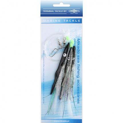 Поводоки для морской ловли Mikado Belona Rig LS-C162 12 см, крючки №1/0
