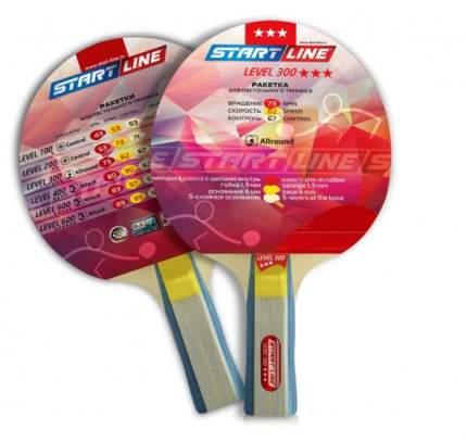 Ракетка для настольного тенниса Start Line 12402 Level 300, черно-красная