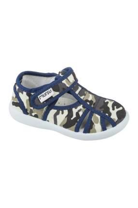 Текстильная обувь MURSU, цв.серый, 21 р-р.