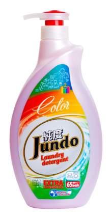 Концентрированный гель Jundo сolor для стирки цветного белья 65 стирок 1 л