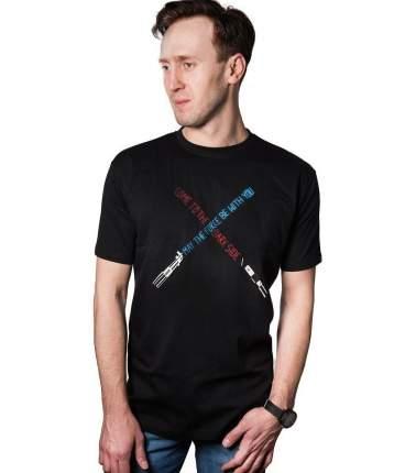 Мужская футболка Star Wars Light Sabers (Размер S)