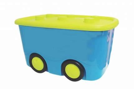 Ящик для игрушек М-Пластика Моби бирюзовый