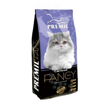 Сухой корм для кошек Premil Fancy, индейка, 0,4кг
