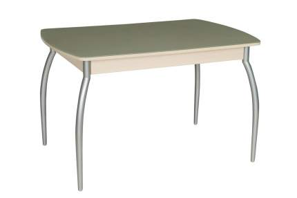 Кухонный стол Hoff 75х120х80 см, серебристый
