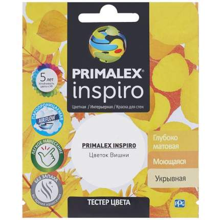Краска для внутренних работ Primalex Inspiro Тестер 40мл Цветок Вишни, PMX-I13