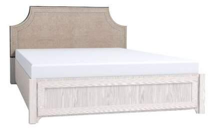 Кровать полутораспальная Глазов мебель Карина 308 140х200 см, серый