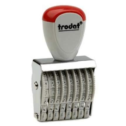 Нумератор ленточный Trodat Classic Line 1548. 8 разряда. Высота шрифта: 4 мм.