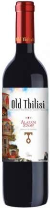 Вино Старый Тбилиси Алазани красное