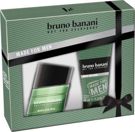 """Подарочный парфюмерный набор BRUNO BANANI """"Made For Men"""""""