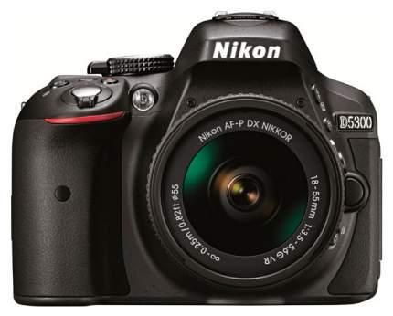 Фотоаппарат зеркальный Nikon D5300 18-55mm VR AF-P Black