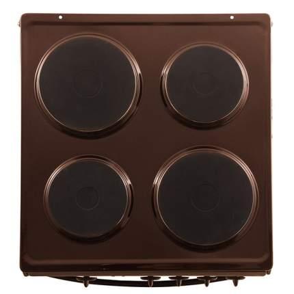 Электрическая плита Flama АЕ14010 B Brown