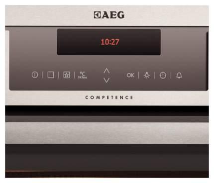 Встраиваемый электрический духовой шкаф AEG BP7314621M Silver