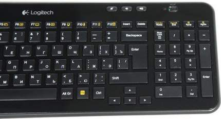 Клавиатура беспроводная Logitech K360 (920-003095)
