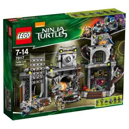 Конструктор LEGO Ninja Turtles Вторжение в логово черепашек (79117)