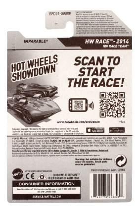 Машинка Hot Wheels 5785 BFD24