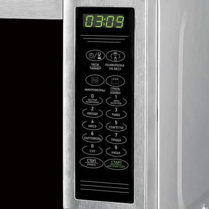 Микроволновая печь с грилем BBK 20MWG-734S/BX silver