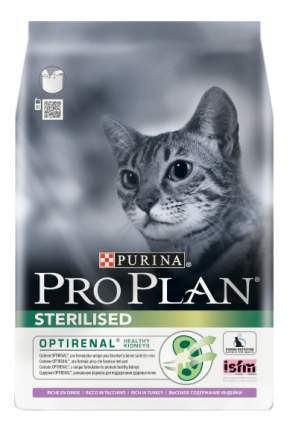 Сухой корм для кошек PRO PLAN Sterilised, для стерилизованных, индейка, 10кг
