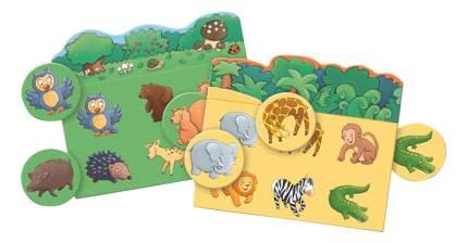 Семейная настольная игра Лото Djeco Животные