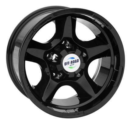 Колесные диски OFF-ROAD Wheels R15 8J PCD5x139.7 ET-27 D110 (A1580-53910HBL-27)