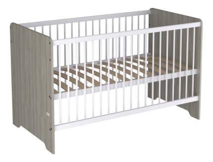 Кровать Polini Simple Nordic 140 х 70 см, вяз
