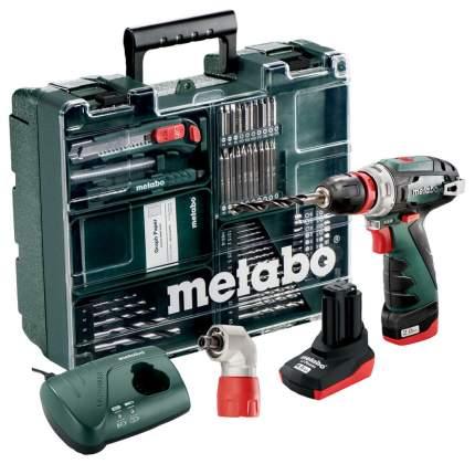 Аккумуляторная дрель-шуруповерт Metabo PowerMaxx BS Quick Pro 600157880