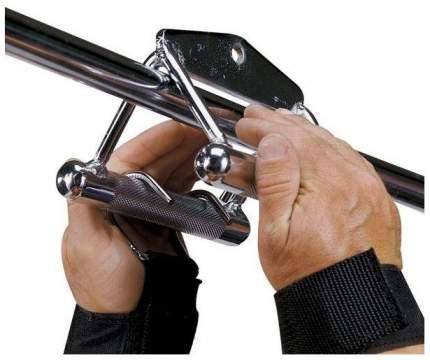 Ремень на запястье с крюками для уменьшения нагрузки на пальцы Body Solid 210 г PG2