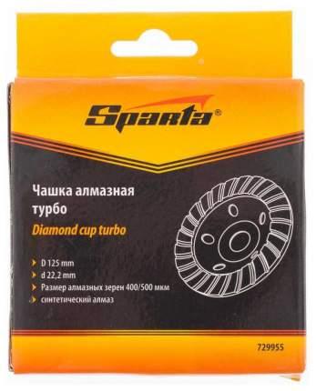 Чашка алмазная для шлифовальных машин SPARTA 125 мм 729955