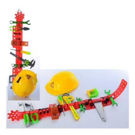 Набор игрушечных инструментов Shantou Gepai с каской и поясом