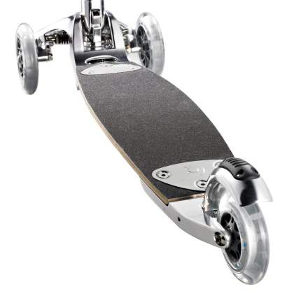 Самокат Micro Kickboard Original Interchangeable серебристый